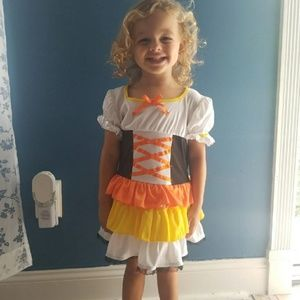Toddlers Candy Corn Halloween costume